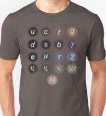Camiseta ajustada Modelo estándar de física