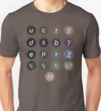 Physics Standard Model Unisex T-Shirt
