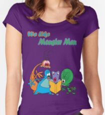Space Goofs - Monster Men Women's Fitted Scoop T-Shirt