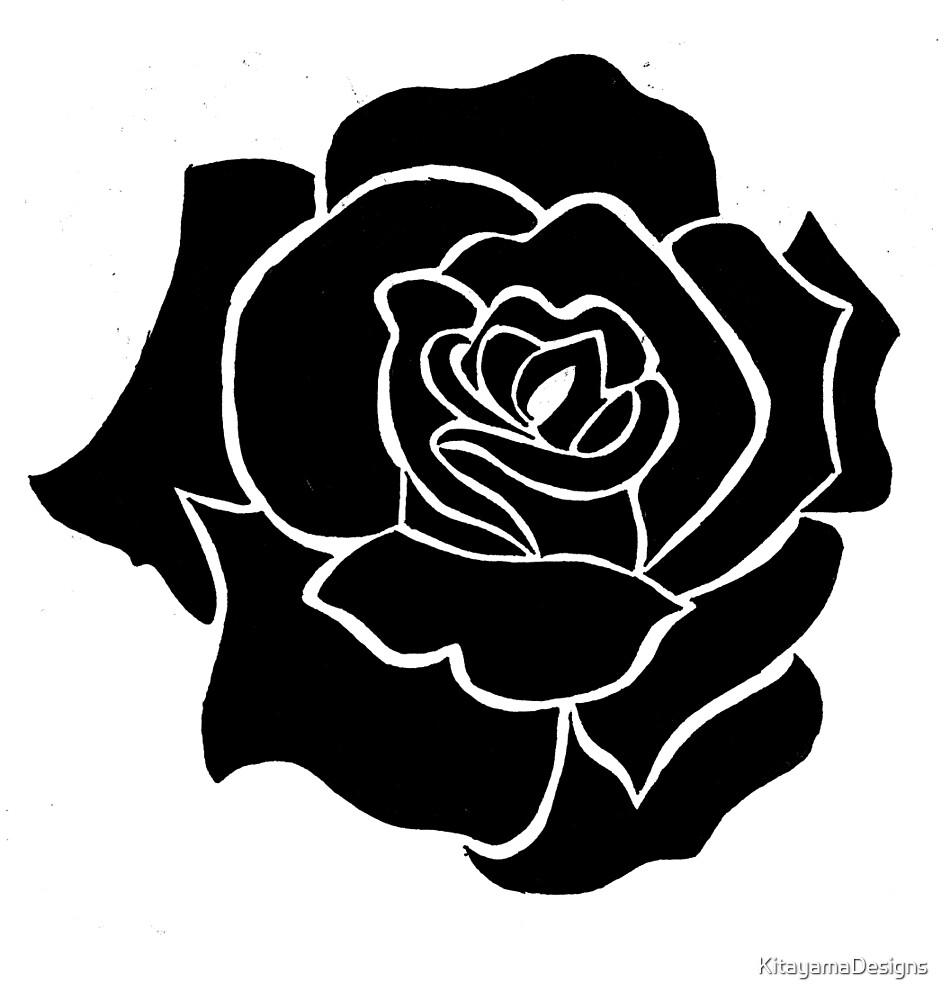 Rose Tribal Design By KitayamaDesigns Redbubble