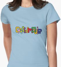 CraftedMovie's logo Women's Fitted T-Shirt