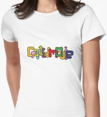 CraftedMovie's logo Womens Fitted T-Shirt