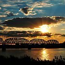 Sunsets On The Ohio River by kentuckyblueman