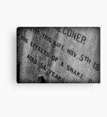 Pioneer Cemetery Metal Print