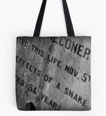 Pioneer Cemetery Tote Bag