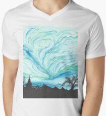 Blue Green Day Men's V-Neck T-Shirt