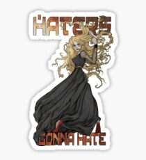 River Song: Haters Gonna Hate Sticker