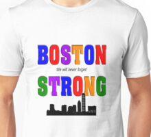 Boston Strong Skyline Unisex T-Shirt