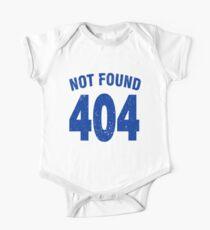 Team shirt - 404 Not Found, blue One Piece - Short Sleeve