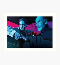 Jesse and Walter Art Print