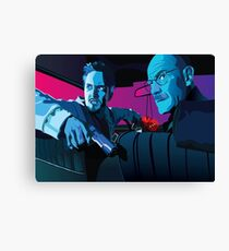 Jesse and Walter Canvas Print