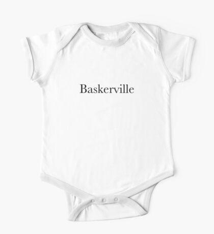 Baskerville Kids Clothes