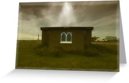 Dungeness Chapel by Nigel Bangert