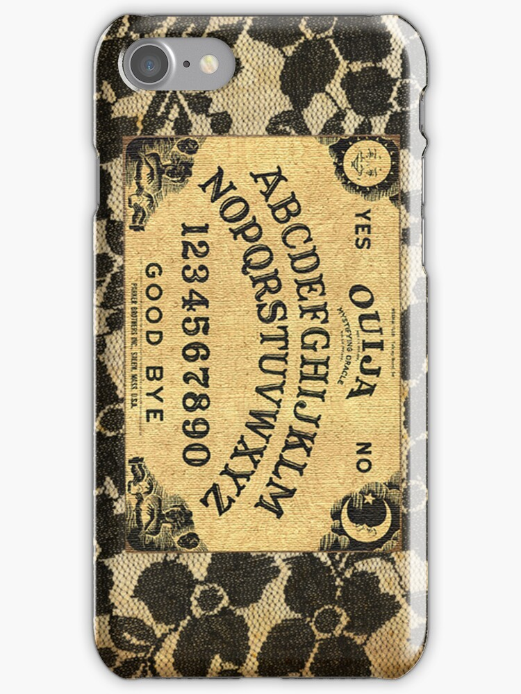 Ouija Board and Lace by madamemynx