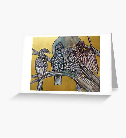 The Bird of Truth Greeting Card