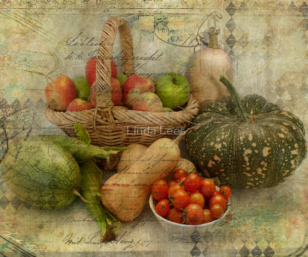Fresh from the Garden by Linda Lees