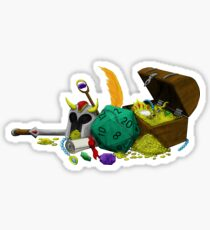 Dungeons & Dragons Loot Sticker