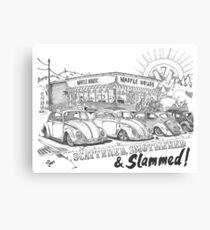 Scattered, Smothered & Slammed Canvas Print