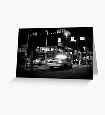Police Chase in Downtown Cinci Greeting Card