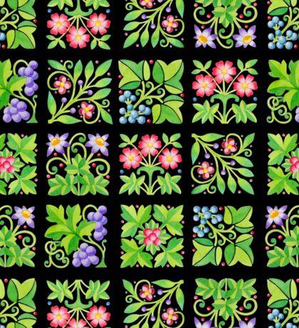 Tudor Flower Parterre Sticker