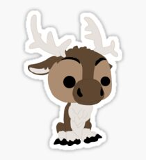 Adorable Reindeer Sticker