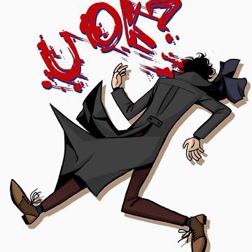 Sherlock: u ok? (without background) by Lascaux