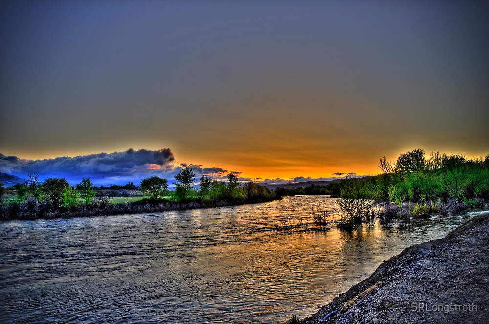 May Day Sunrise Over the River by SRLongstroth
