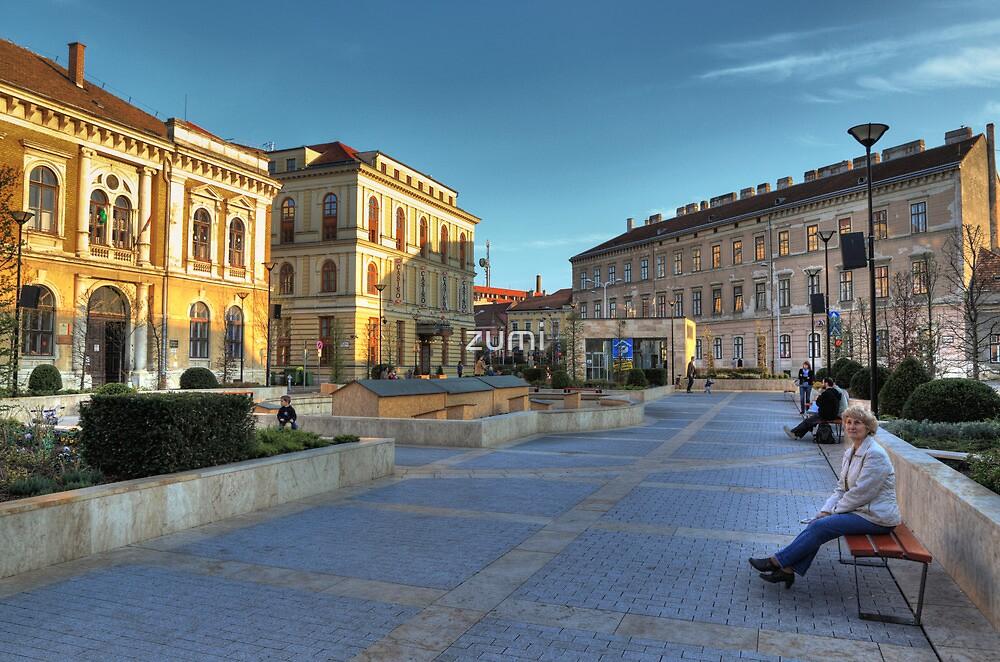 Sopron plaza by zumi