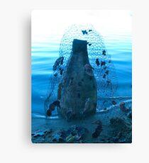 Blue Kiln Canvas Print
