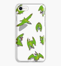 Tiny Pterosaur Bunch (Nemicolopterus) iPhone Case/Skin
