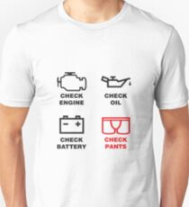 CHECK PANTS T-Shirt