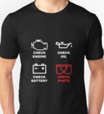 CHECK PANTS Slim Fit T-Shirt