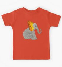 Elephant and Butterfly Kids Tee