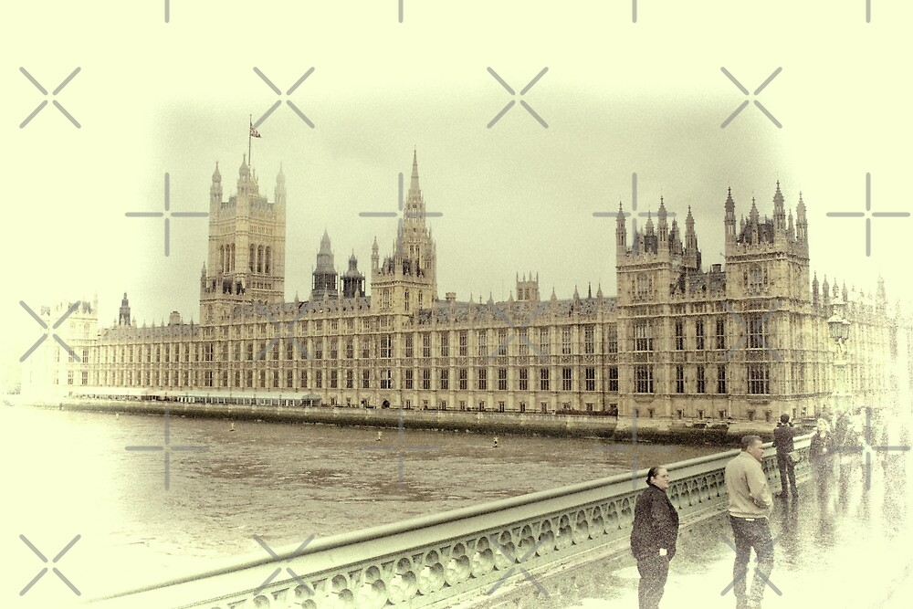 The Houses of Parliament by Catherine Hamilton-Veal  ©
