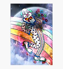 CLOWN IN LOVE Photographic Print