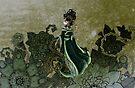 Gold Gilded Leda: A Bollywood Geisha by Barbora  Urbankova