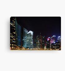 Singapore Skyline Canvas Print