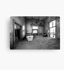 Abandoned in Kolmanskop Canvas Print
