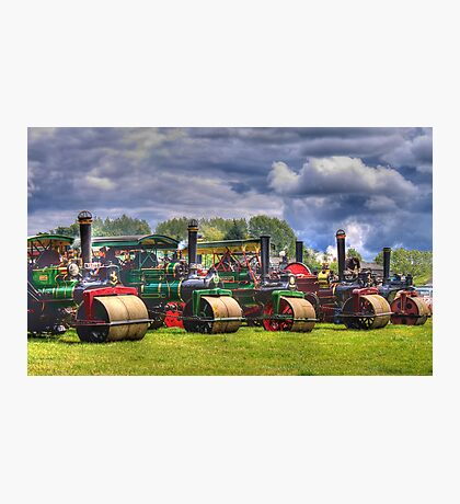 Steam Road Rollers  Photographic Print