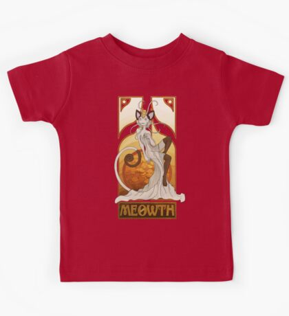 Rule 63: Meowth Kids Clothes