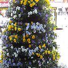 Flower tower by AmandaWitt