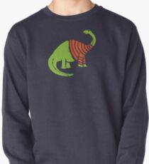 Brontosaurus in a Sweater  Pullover