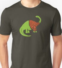 Brontosaurus in a Sweater  Slim Fit T-Shirt