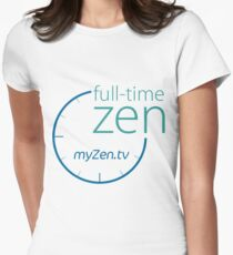 Full-time Zen Womens Fitted T-Shirt