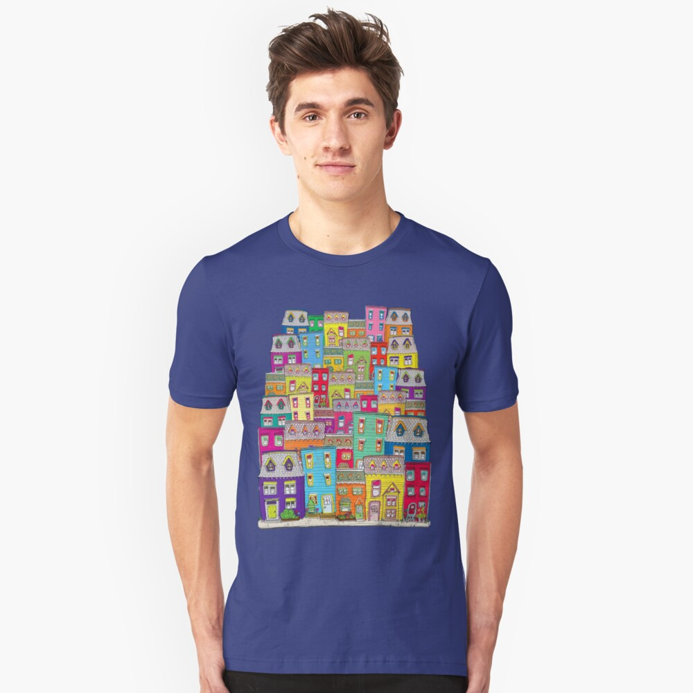 Way Downtown Unisex T-Shirt Front