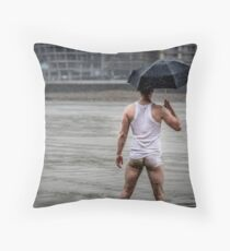 Only in London with Nick Throw Pillow