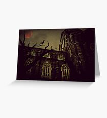 Haunted Honeymoon Greeting Card