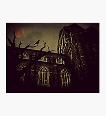 Haunted Honeymoon Photographic Print