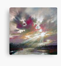 Loch Light Canvas Print