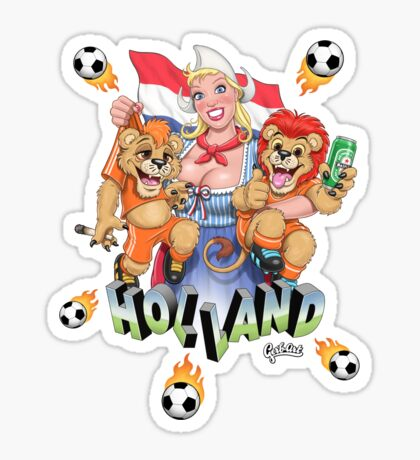 Let's Go DUTCH! (Great Balls of Fire:-)) Sticker